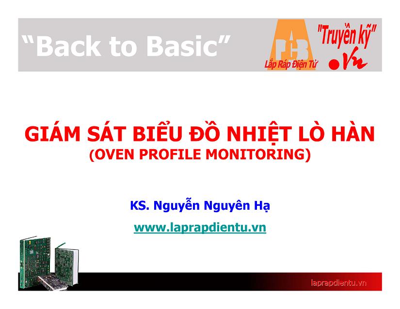 Giám sát biểu đồ nhiệt lò hàn: Giám sát trực tuyến lò hàn buồng nhiệt (2)