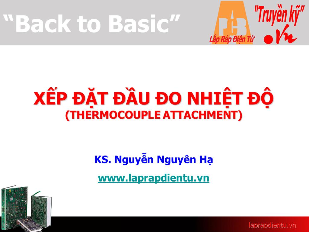 Xếp đặt đầu đo nhiệt độ: Dây nhiệt điện (1)
